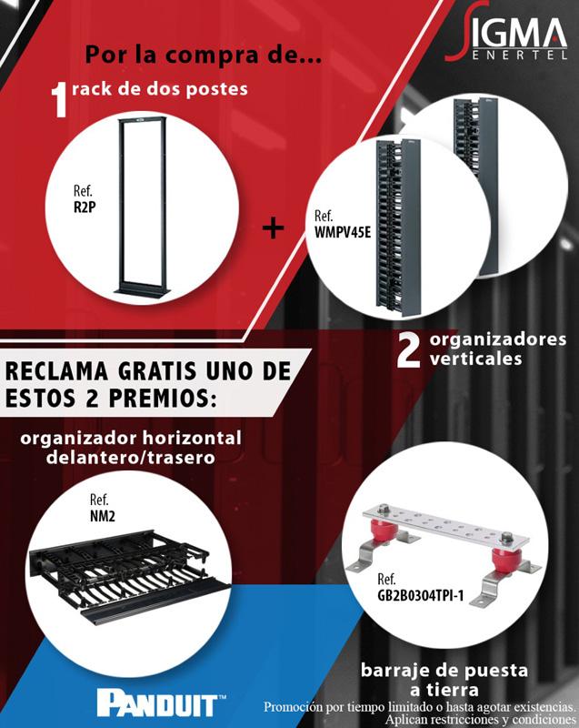 Promoción Rack y Org